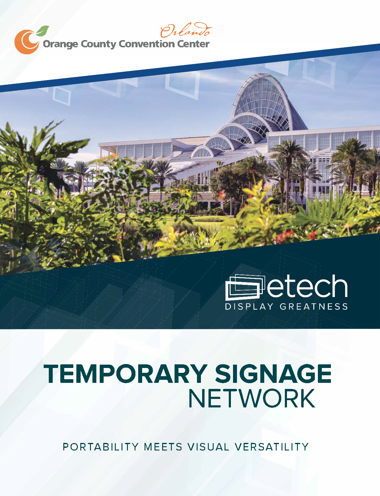 eTech Temporary Signage Network PDF cover